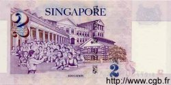 2 Dollars SINGAPOUR  2000 P.45 NEUF