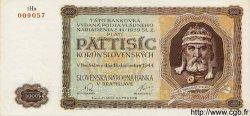 5000 Korun SLOVAQUIE  1944 P.14s pr.NEUF