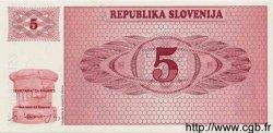 5 Tolarjev SLOVÉNIE  1990 P.03 NEUF