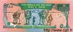 5 Shillings / 5 Shilin SOMALILAND  1994 P.01a NEUF