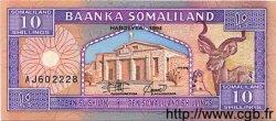 10 Shillings / 10 Shilin SOMALILAND  1994 P.02a NEUF