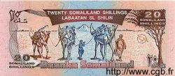 20 Shillings / 20 Shilin SOMALILAND  1996 P.03b NEUF