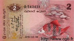 2 Rupees SRI LANKA  1979 P.083 NEUF