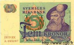 5 Kronor SUÈDE  1979 P.51d NEUF