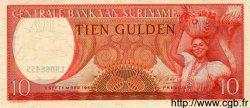 10 Gulden SURINAM  1963 P.031 NEUF