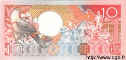 10 Gulden SURINAM  1986 P.041 NEUF