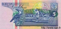 5 Gulden SURINAM  1996 P.046b NEUF