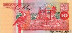 10 Gulden SURINAM  1998 P.047b NEUF