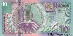 10 Gulden SURINAM  2000 P.057 NEUF