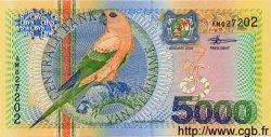 5000 Gulden SURINAM  2000 P.062 NEUF