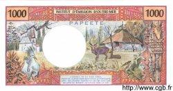 1000 Francs (avec République Française) TAHITI  1985 P.27d pr.NEUF