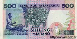 500 Shilingi TANZANIE  1993 P.26c NEUF