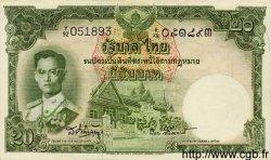 20 Baht THAÏLANDE  1953 P.077d SUP+