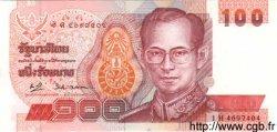 100 Baht THAÏLANDE  1994 P.097 pr.NEUF