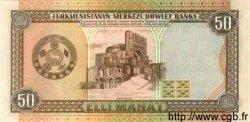 50 Manat TURKMÉNISTAN  1995 P.05b NEUF