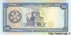 100 Manat TURKMÉNISTAN  1995 P.06b NEUF