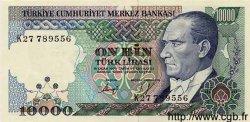 10000 Lira TURQUIE  1984 P.200 NEUF