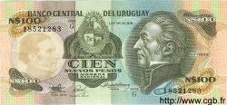 100 Nuevos Pesos URUGUAY  1987 P.062A NEUF