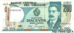 200 Nuevos Pesos URUGUAY  1986 P.066 NEUF