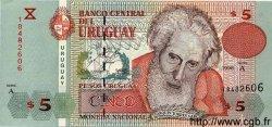 5 Pesos Uruguayos URUGUAY  1998 P.080 NEUF