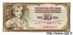 10 Dinara YOUGOSLAVIE  1968 P.082b NEUF
