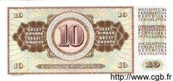10 Dinara YOUGOSLAVIE  1978 P.087a NEUF
