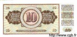10 Dinara YOUGOSLAVIE  1981 P.087b NEUF