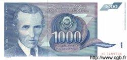 1000 Dinara YOUGOSLAVIE  1991 P.110 NEUF