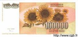 100000 Dinara YOUGOSLAVIE  1993 P.118 NEUF