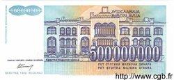 500000000 Dinara YOUGOSLAVIE  1993 P.134 NEUF