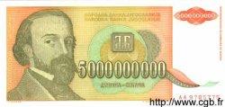 5000000000 Dinara YOUGOSLAVIE  1993 P.135a NEUF
