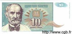 10 Dinara YOUGOSLAVIE  1994 P.138a NEUF