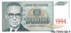 100000000 Dinara YOUGOSLAVIE  1994 P.144a NEUF