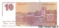 10 Novih Dinara YOUGOSLAVIE  1994 P.149