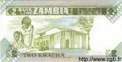2 Kwacha ZAMBIE  1980 P.24c NEUF