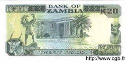 20 Kwacha ZAMBIE  1989 P.32b NEUF