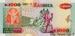 1000 Kwacha ZAMBIE  1992 P.40a NEUF