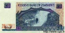 20 Dollars ZIMBABWE  1997 P.07 NEUF