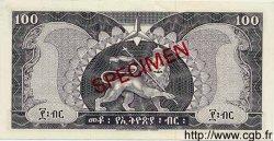 100 Dollars ÉTHIOPIE  1966 P.29s NEUF