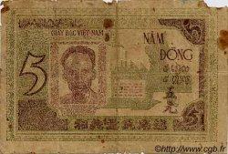 5 Dong VIET NAM  1946 P.003a B+