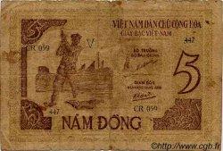 5 Dong VIET NAM  1946 P.003b TB