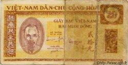 20 Dong VIET NAM  1946 P.007 B à TB