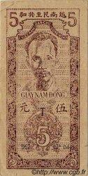 5 Dong VIET NAM  1947 P.010c TTB