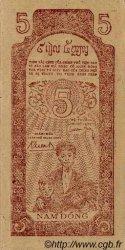 5 Dong VIET NAM  1947 P.010c pr.NEUF