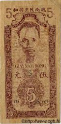 5 Dong VIET NAM  1947 P.010e TB