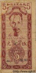 5 Dong VIET NAM  1947 P.010Ac TTB