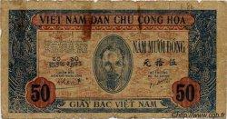 50 Dong VIET NAM  1947 P.011b B