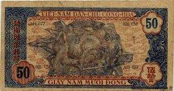 50 Dong VIET NAM  1947 P.011b TTB