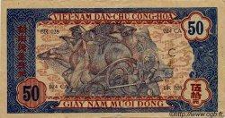 50 Dong VIET NAM  1947 P.011c TTB+