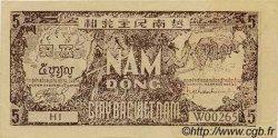 5 Dong VIET NAM  1948 P.017a TTB+